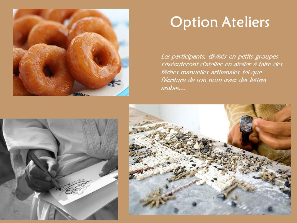 Option Ateliers