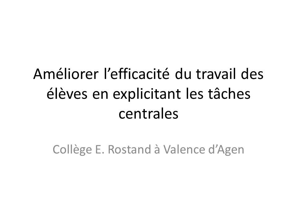 Collège E. Rostand à Valence d'Agen