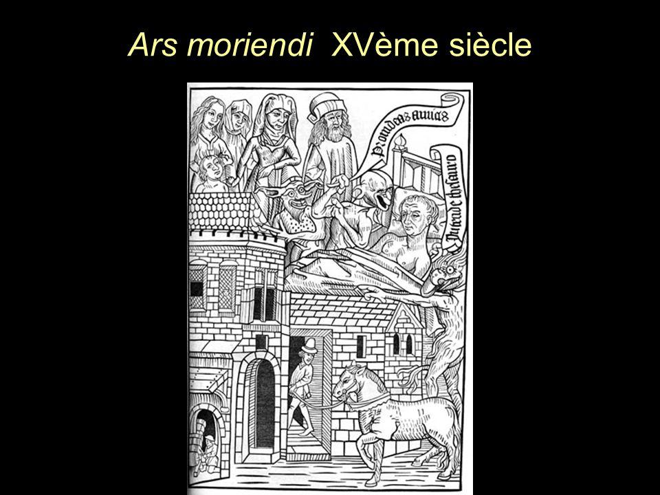 Ars moriendi XVème siècle