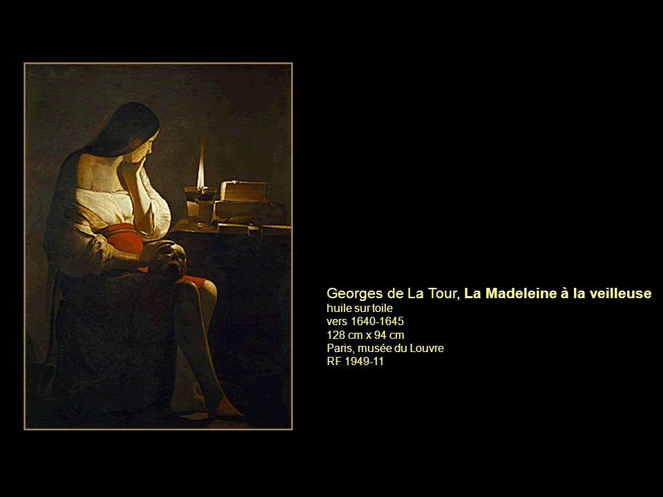 Georges de La Tour, La Madeleine à la veilleuse