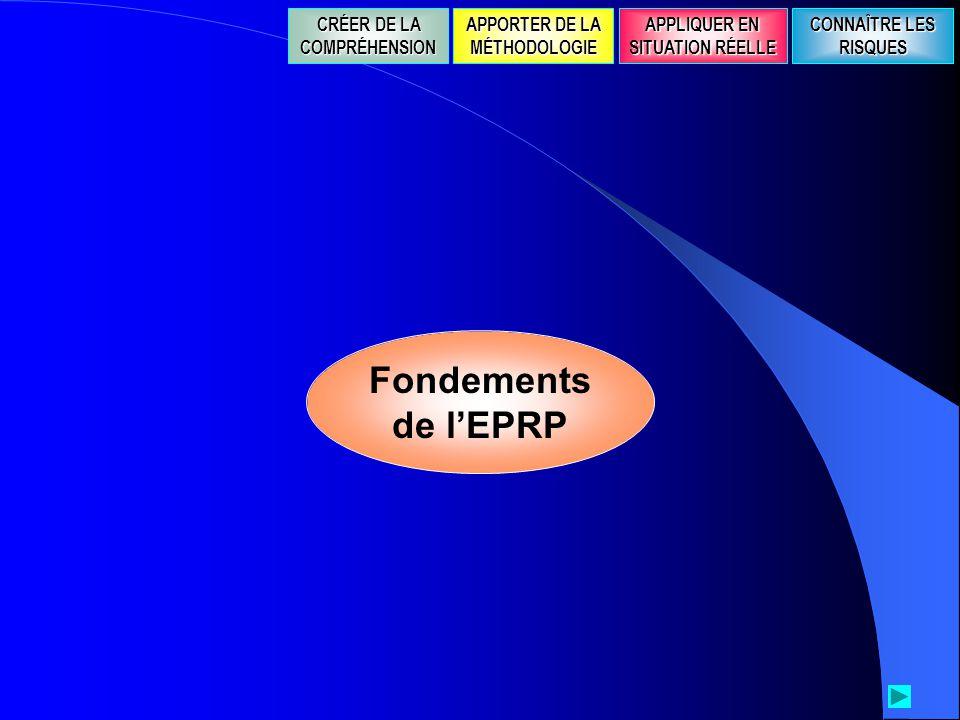Fondements de l'EPRP CRÉER DE LA COMPRÉHENSION