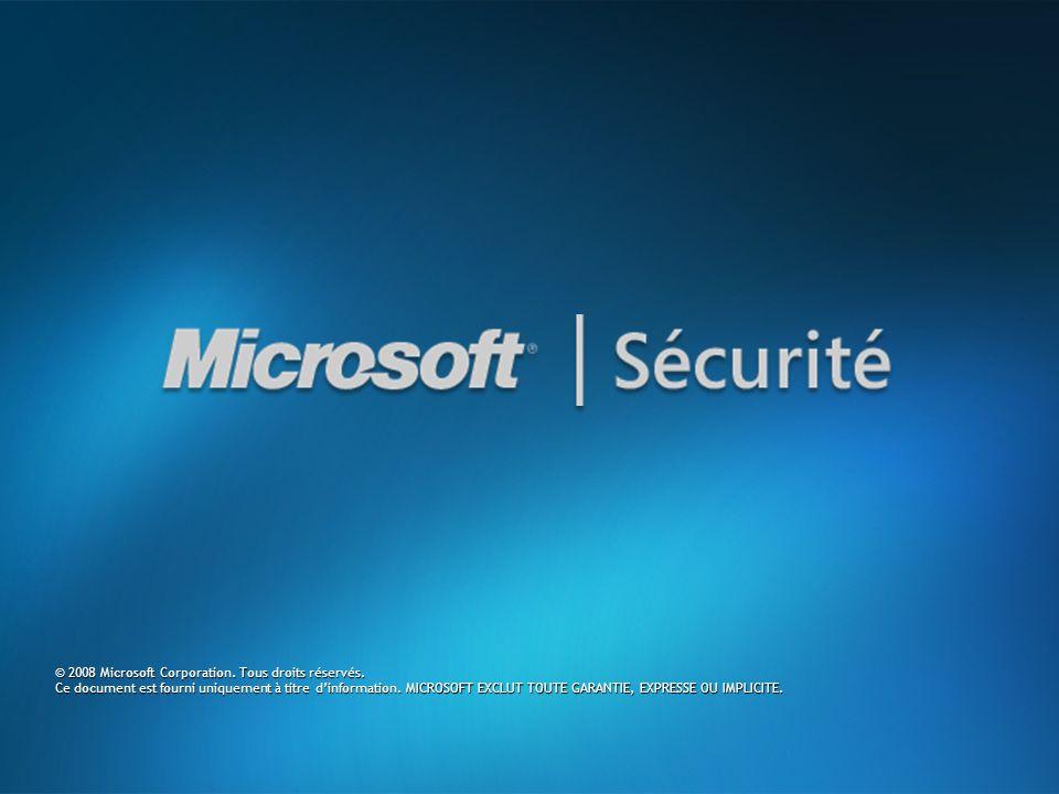 © 2008 Microsoft Corporation. Tous droits réservés.