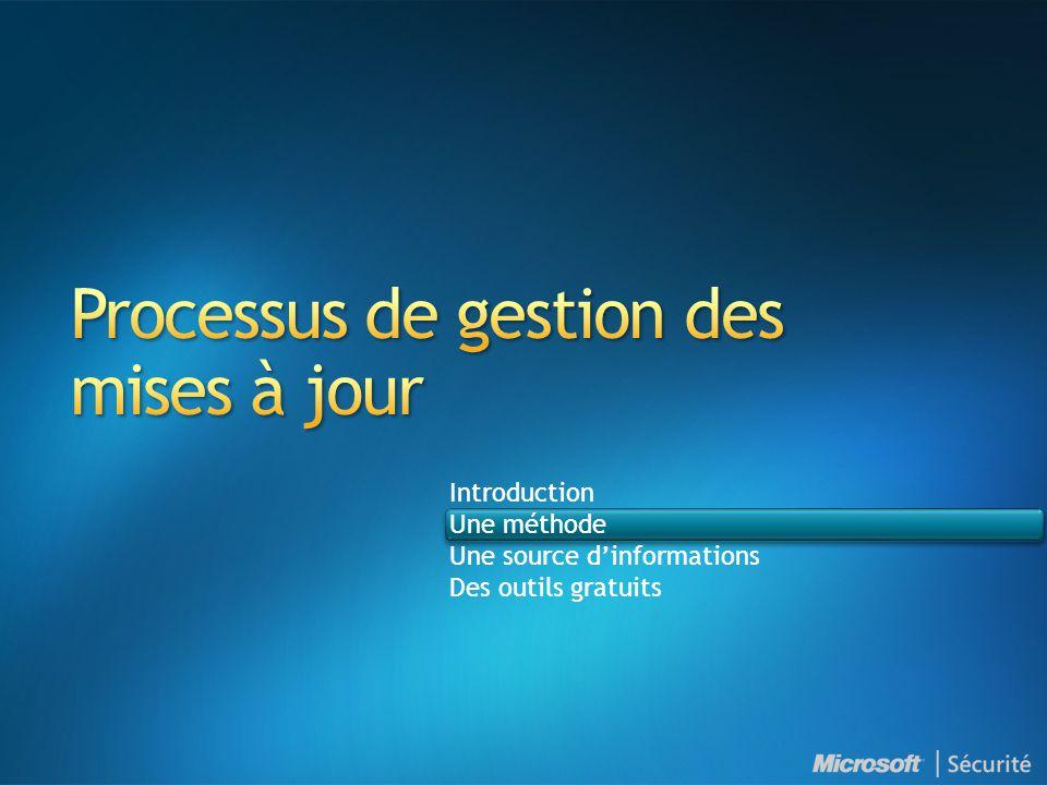 Processus de gestion des mises à jour