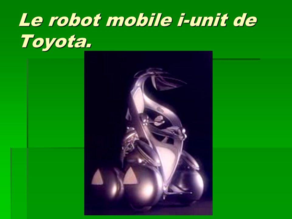 Le robot mobile i-unit de Toyota.