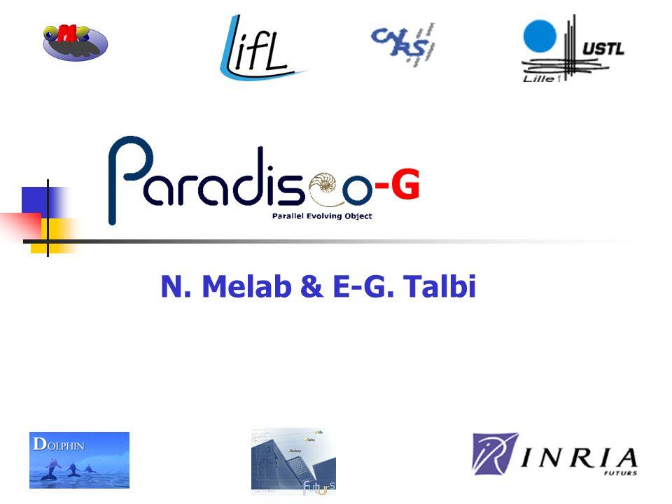 -G N. Melab & E-G. Talbi