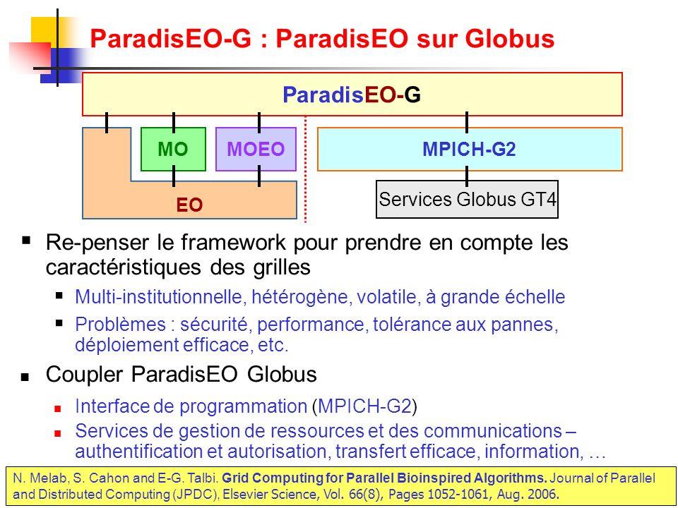ParadisEO-G : ParadisEO sur Globus