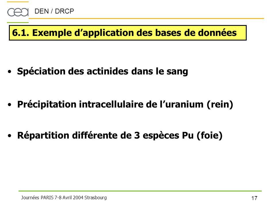 6.1. Exemple d'application des bases de données