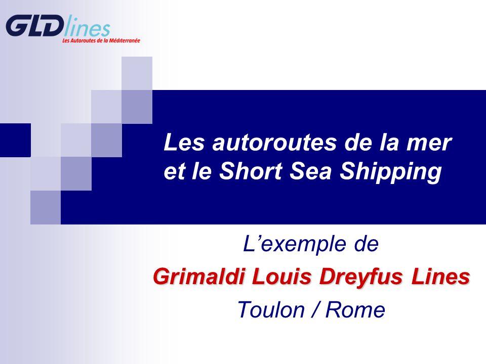 Les autoroutes de la mer et le Short Sea Shipping