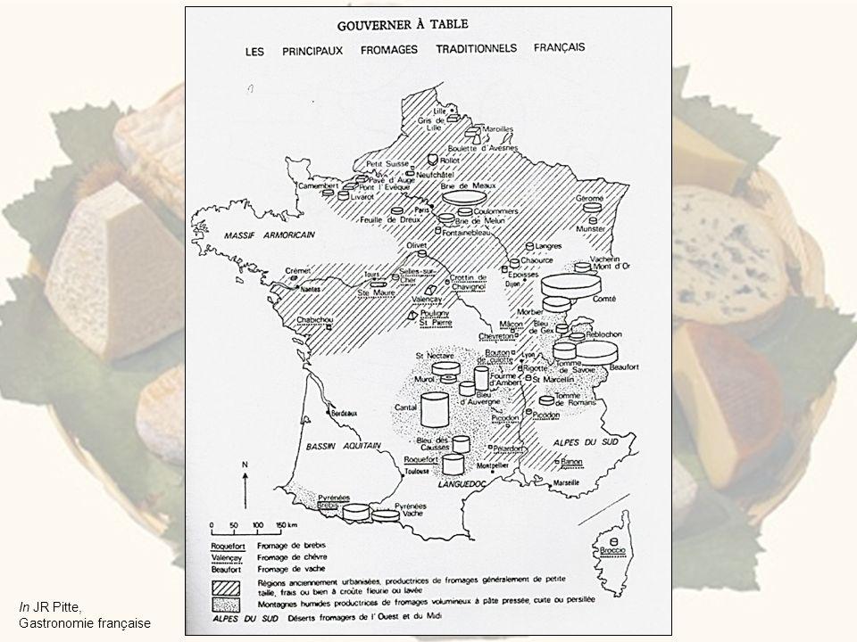 In JR Pitte, Gastronomie française
