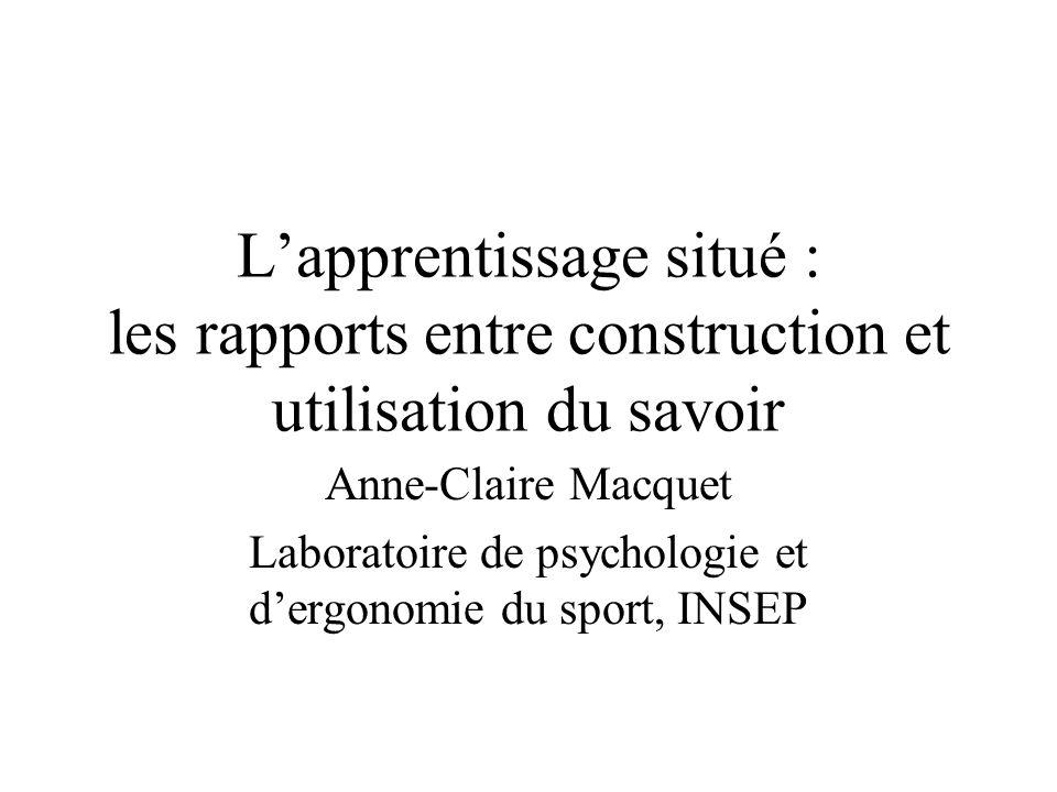 Laboratoire de psychologie et d'ergonomie du sport, INSEP
