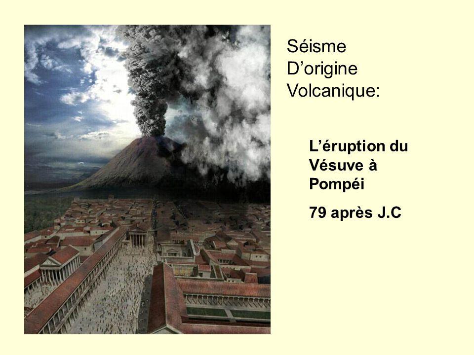Séisme D'origine Volcanique: