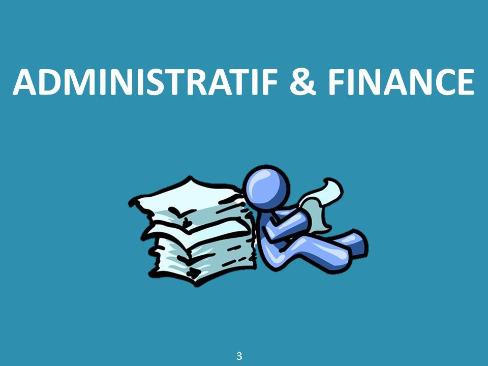 Administratif & Finance
