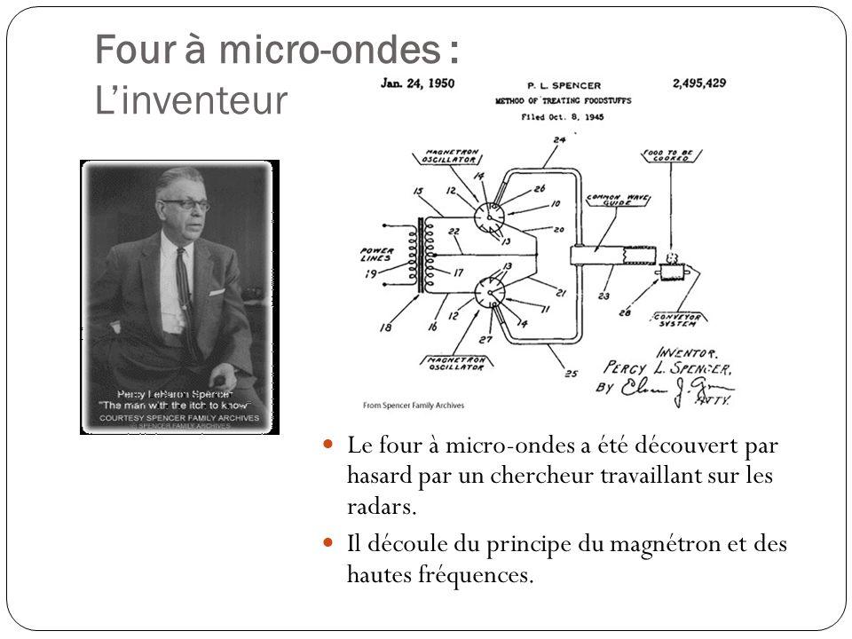 Four à micro-ondes : L'inventeur