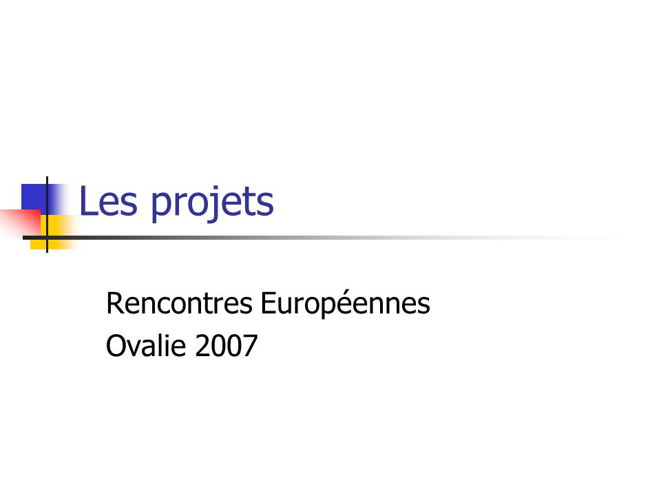 Rencontres Européennes Ovalie 2007
