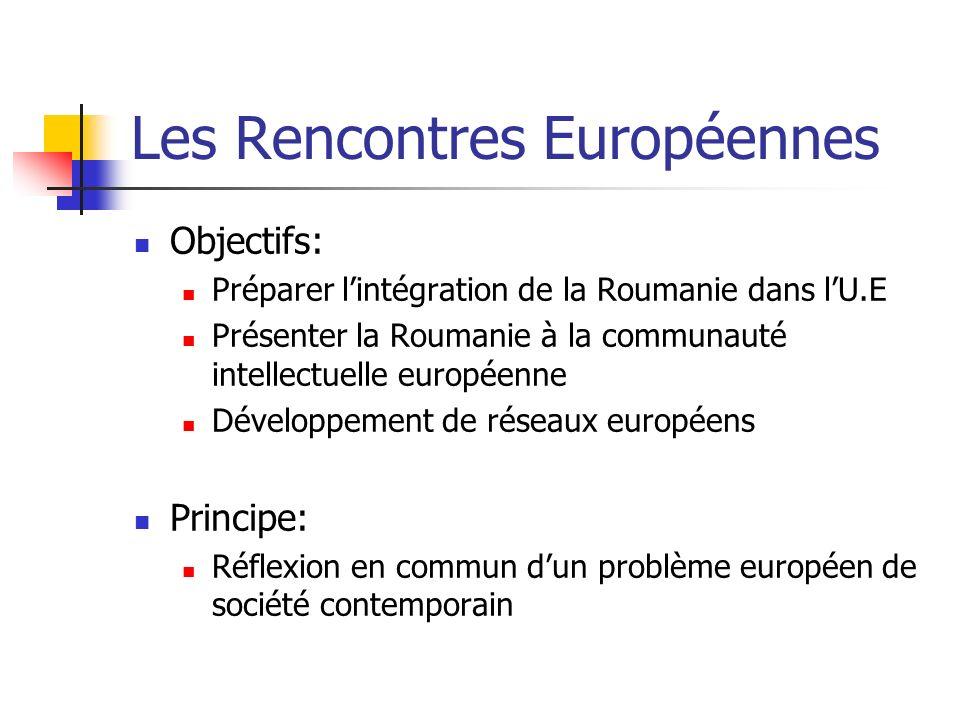 Les Rencontres Européennes