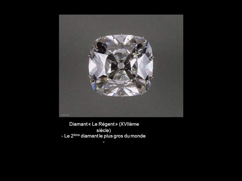 Diamant « Le Régent » (XVIIème siècle)