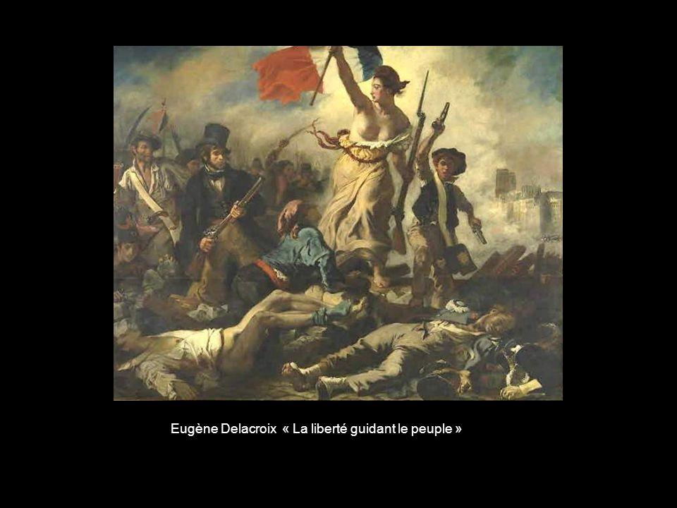 Eugène Delacroix « La liberté guidant le peuple »