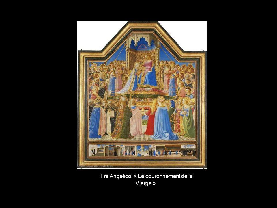 Fra Angelico « Le couronnement de la Vierge »