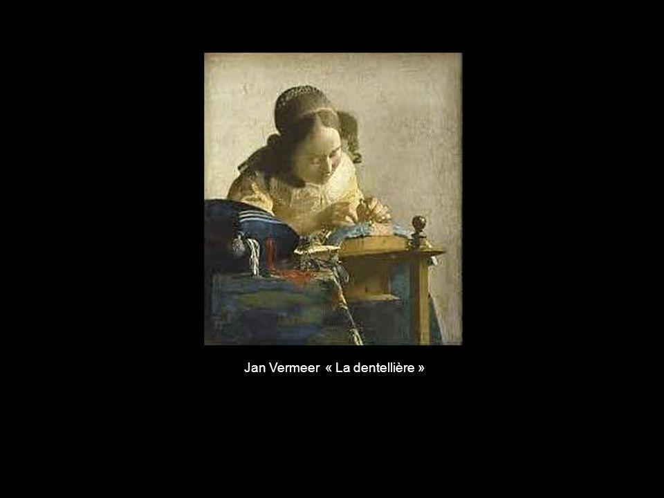 Jan Vermeer « La dentellière »