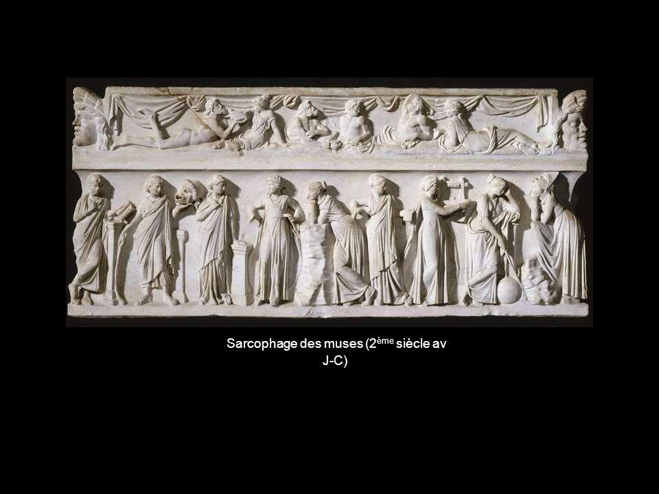 Sarcophage des muses (2ème siècle av J-C)