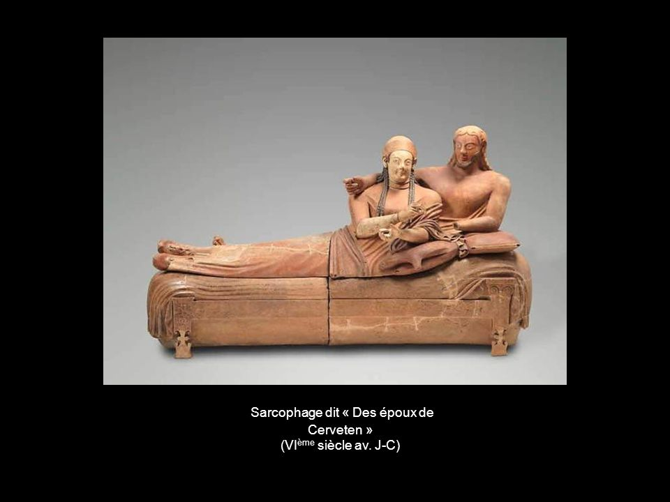 Sarcophage dit « Des époux de Cerveten »