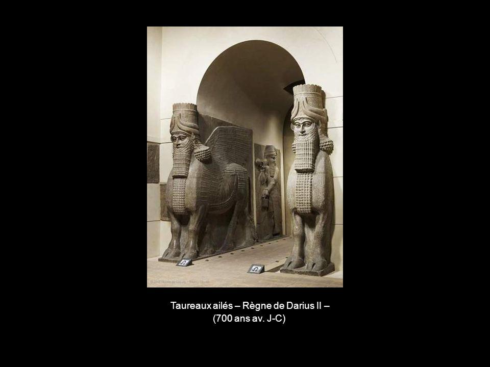 Taureaux ailés – Règne de Darius II –