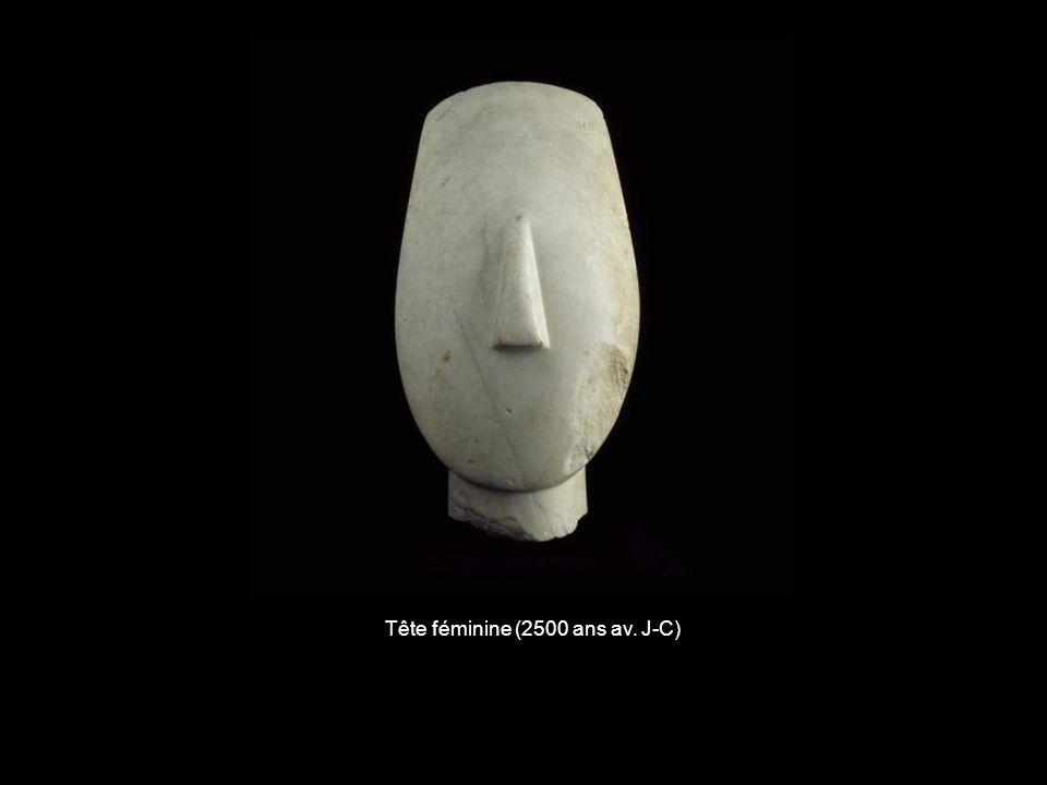 Tête féminine (2500 ans av. J-C)