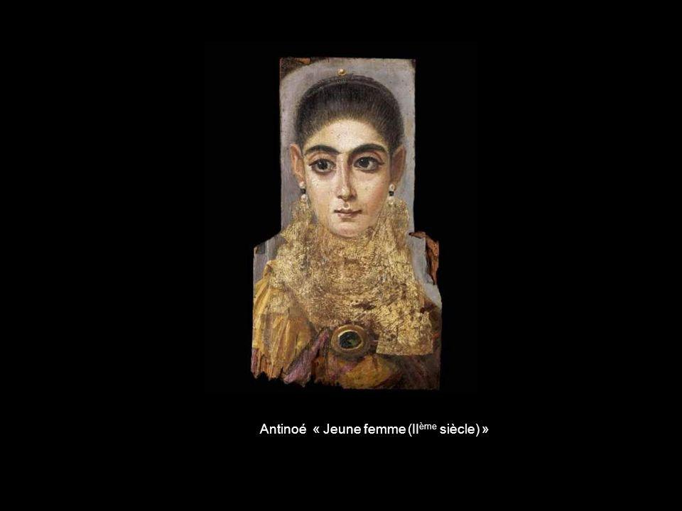Antinoé « Jeune femme (IIème siècle) »