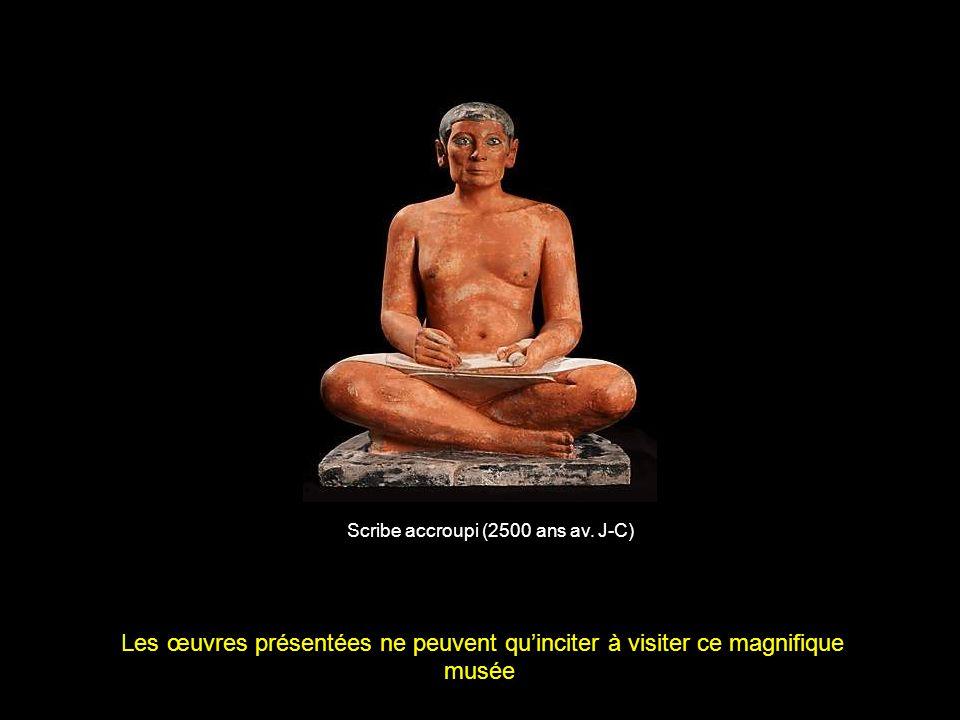 Scribe accroupi (2500 ans av. J-C)