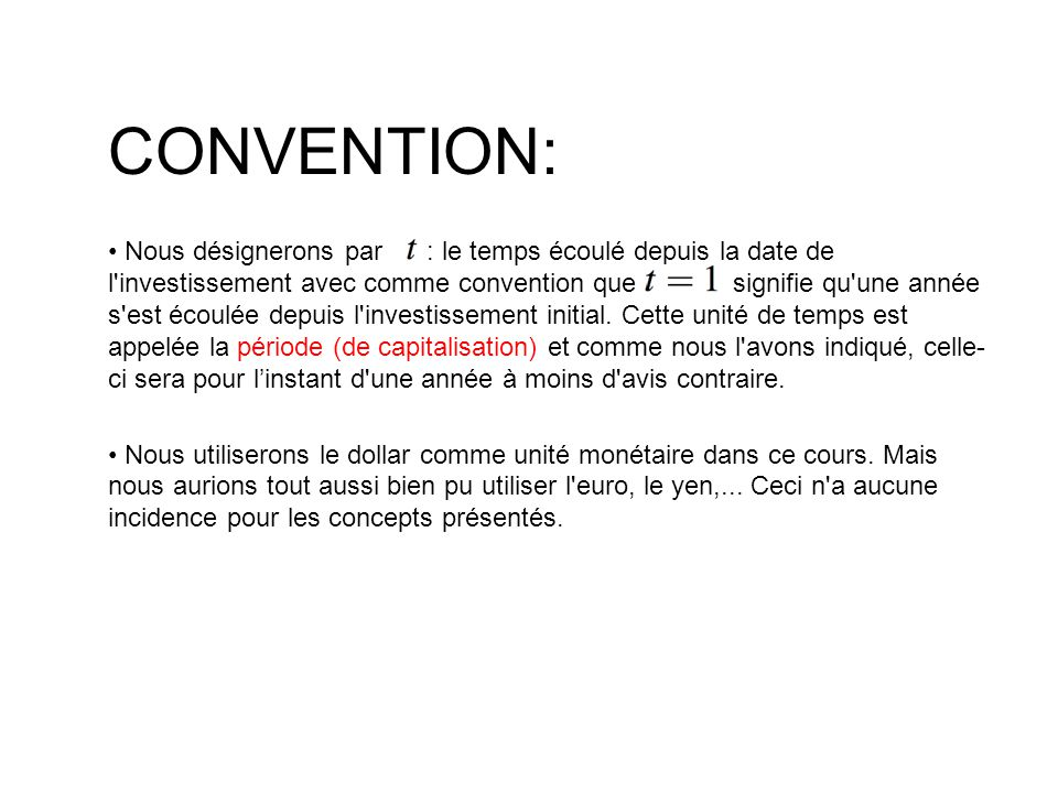 CONVENTION: