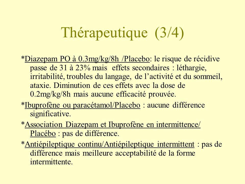 Thérapeutique (3/4)