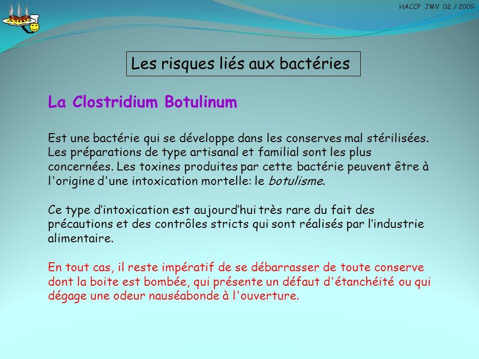 Les risques liés aux bactéries