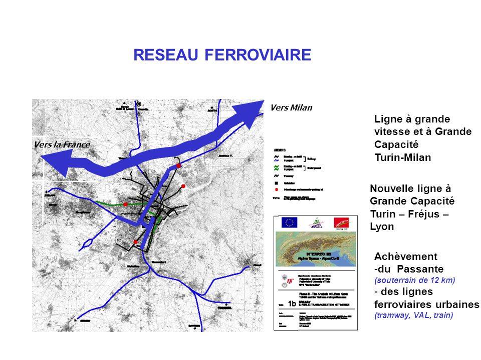 RESEAU FERROVIAIRE Ligne à grande vitesse et à Grande Capacité