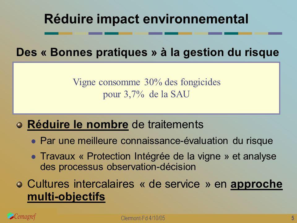 Réduire impact environnemental