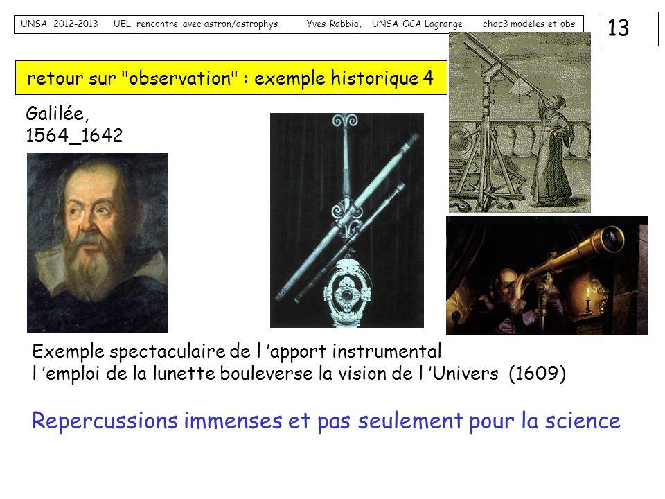 retour sur observation : exemple historique 4