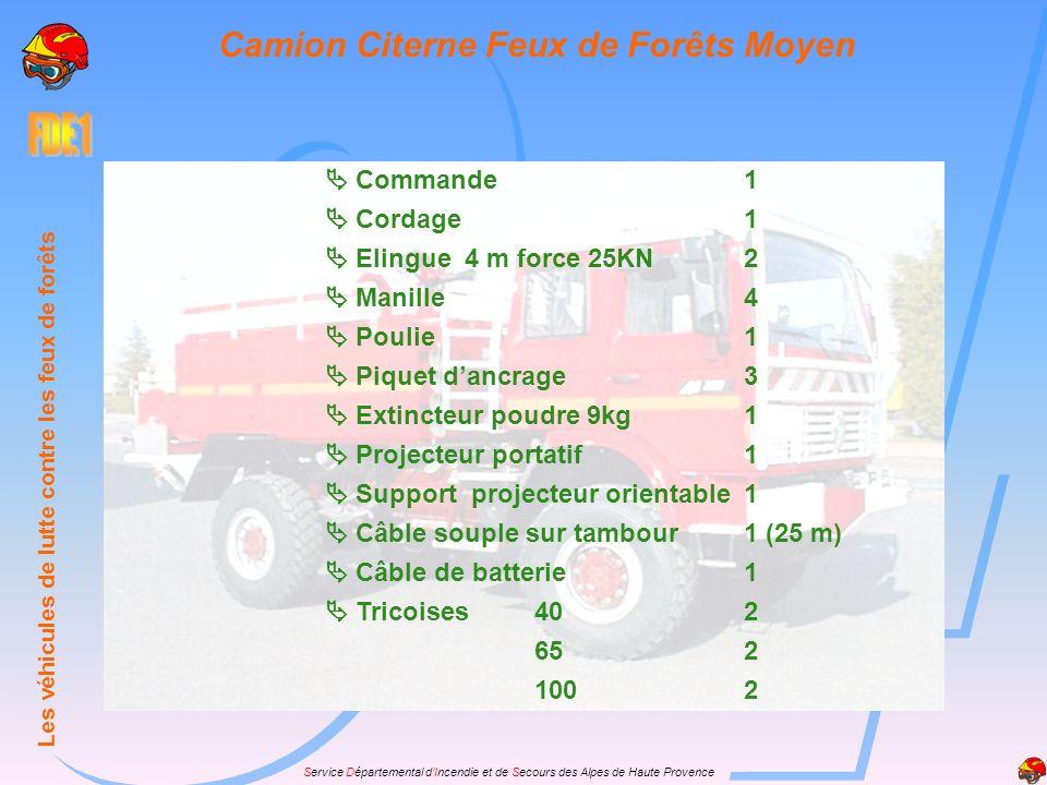 Camion Citerne Feux de Forêts Moyen