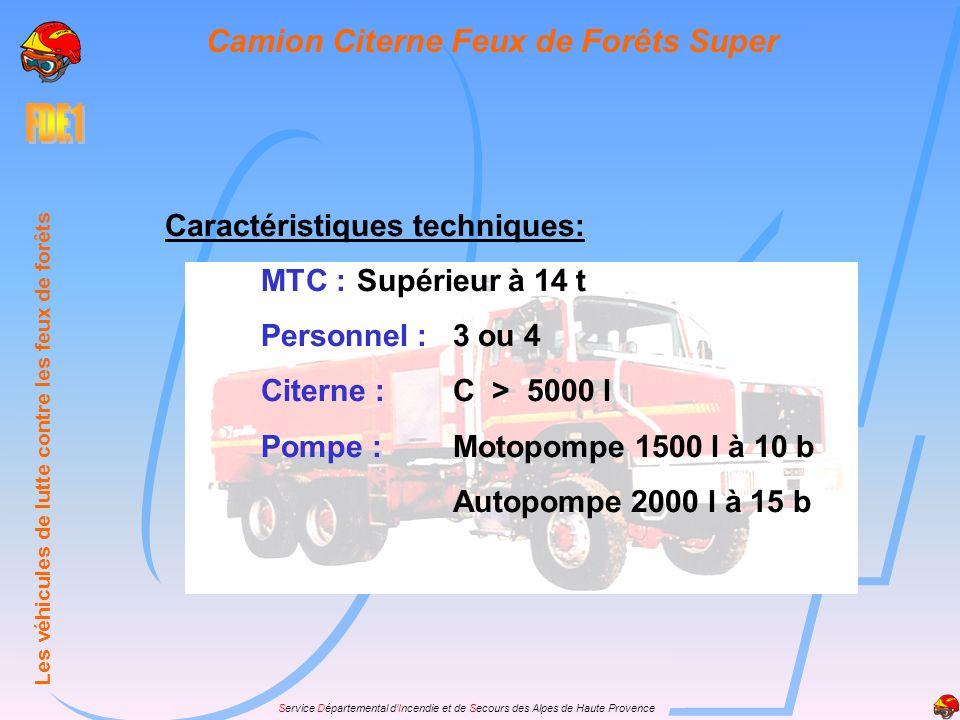 Camion Citerne Feux de Forêts Super
