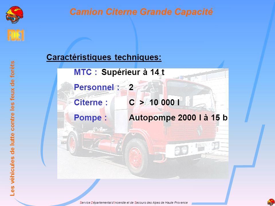 Camion Citerne Grande Capacité