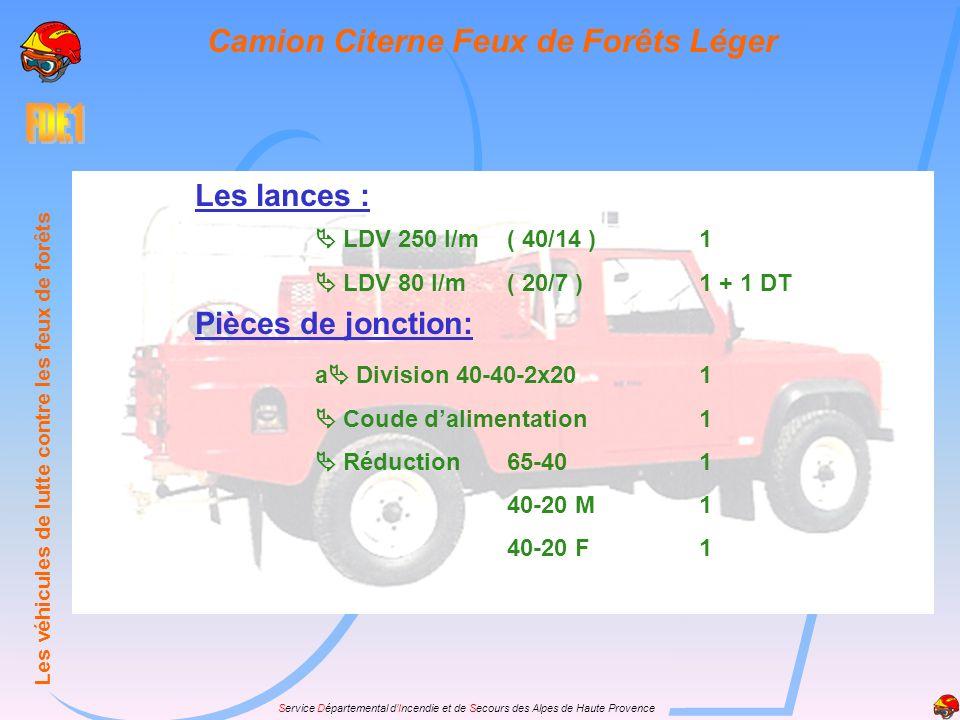 Camion Citerne Feux de Forêts Léger