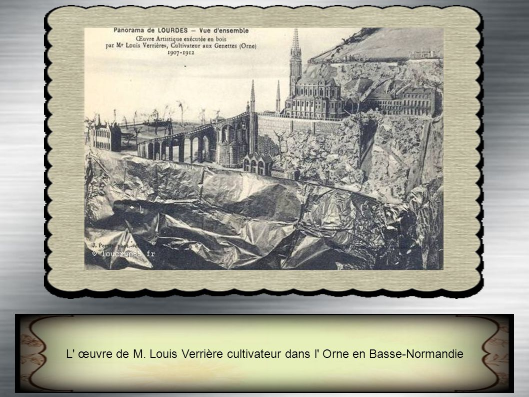 L œuvre de M. Louis Verrière cultivateur dans l Orne en Basse-Normandie