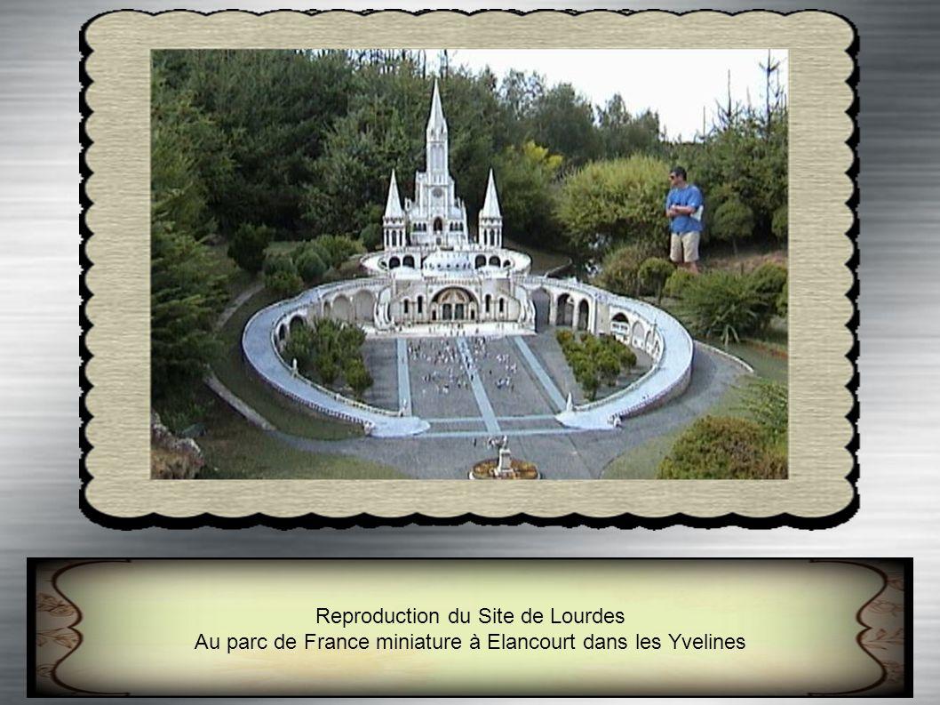 Reproduction du Site de Lourdes