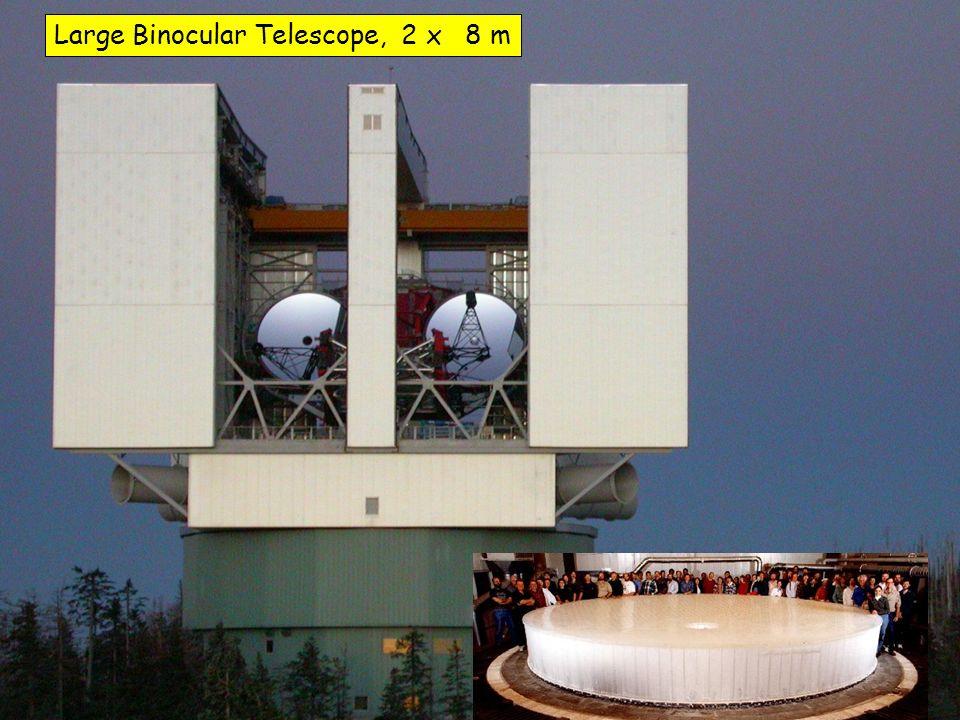 Large Binocular Telescope, 2 x 8 m