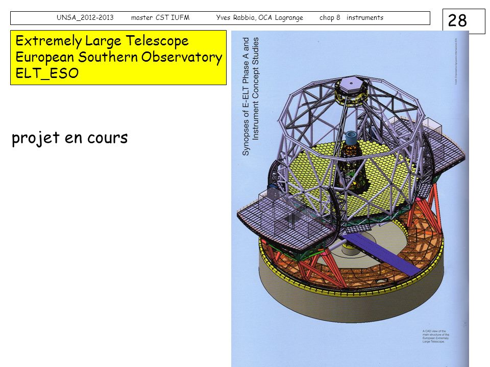 Extremely Large Telescope European Southern Observatory ELT_ESO