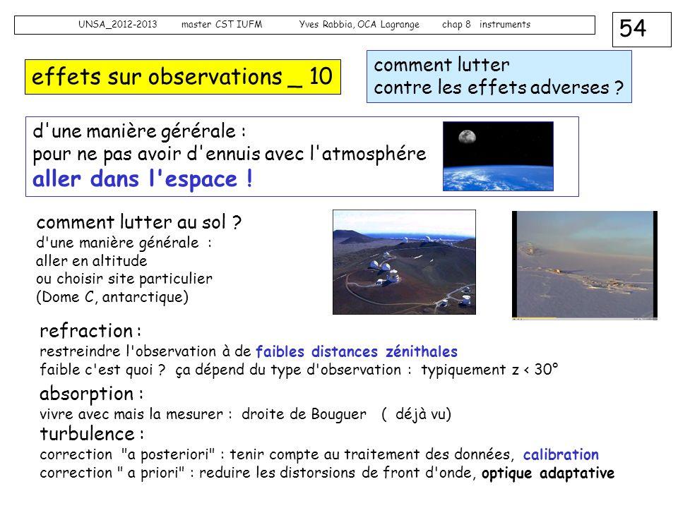 effets sur observations _ 10