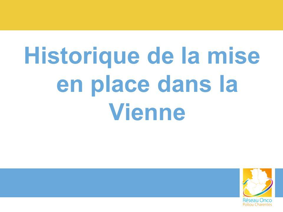 Historique de la mise en place dans la Vienne