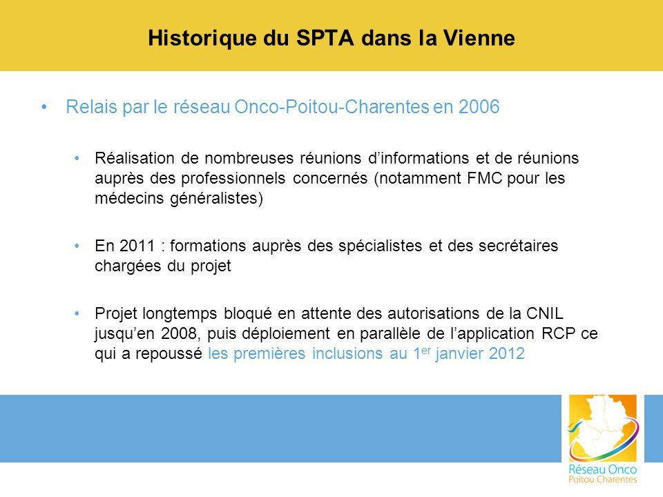 Historique du SPTA dans la Vienne