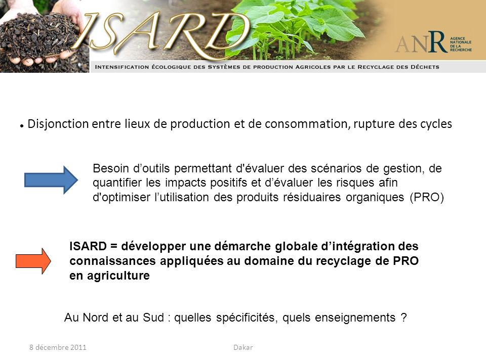 ISARD = développer une démarche globale d'intégration des