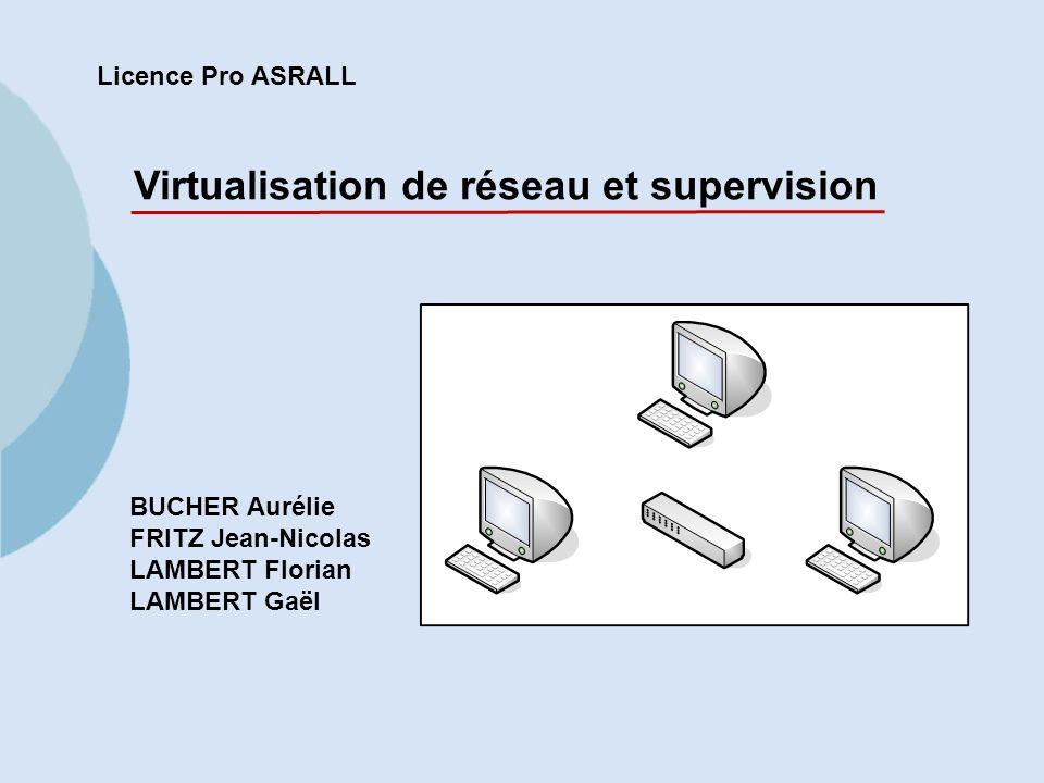 Virtualisation de réseau et supervision