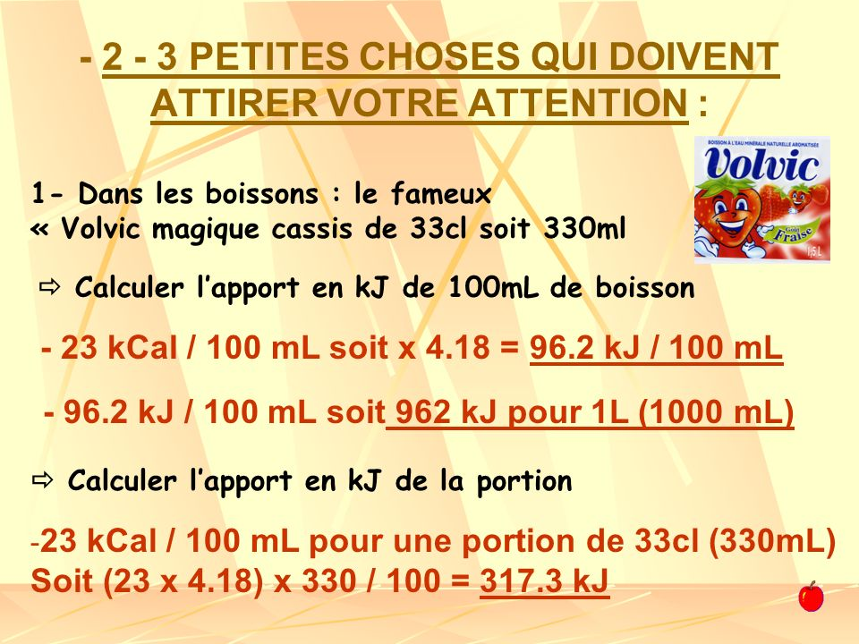 - 2 - 3 PETITES CHOSES QUI DOIVENT ATTIRER VOTRE ATTENTION :