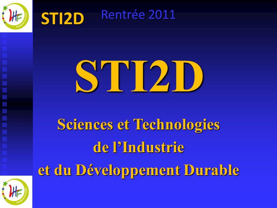 Sciences et Technologies et du Développement Durable